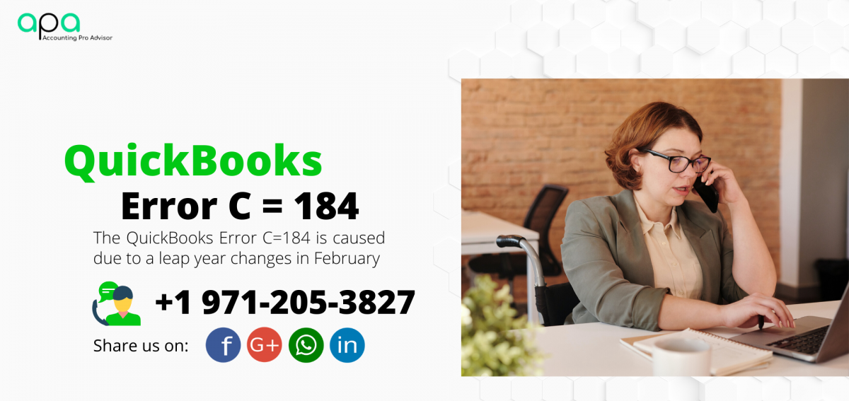 QuickBooks Error C=184