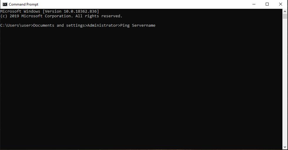 Ping your server QuickBooks error H202