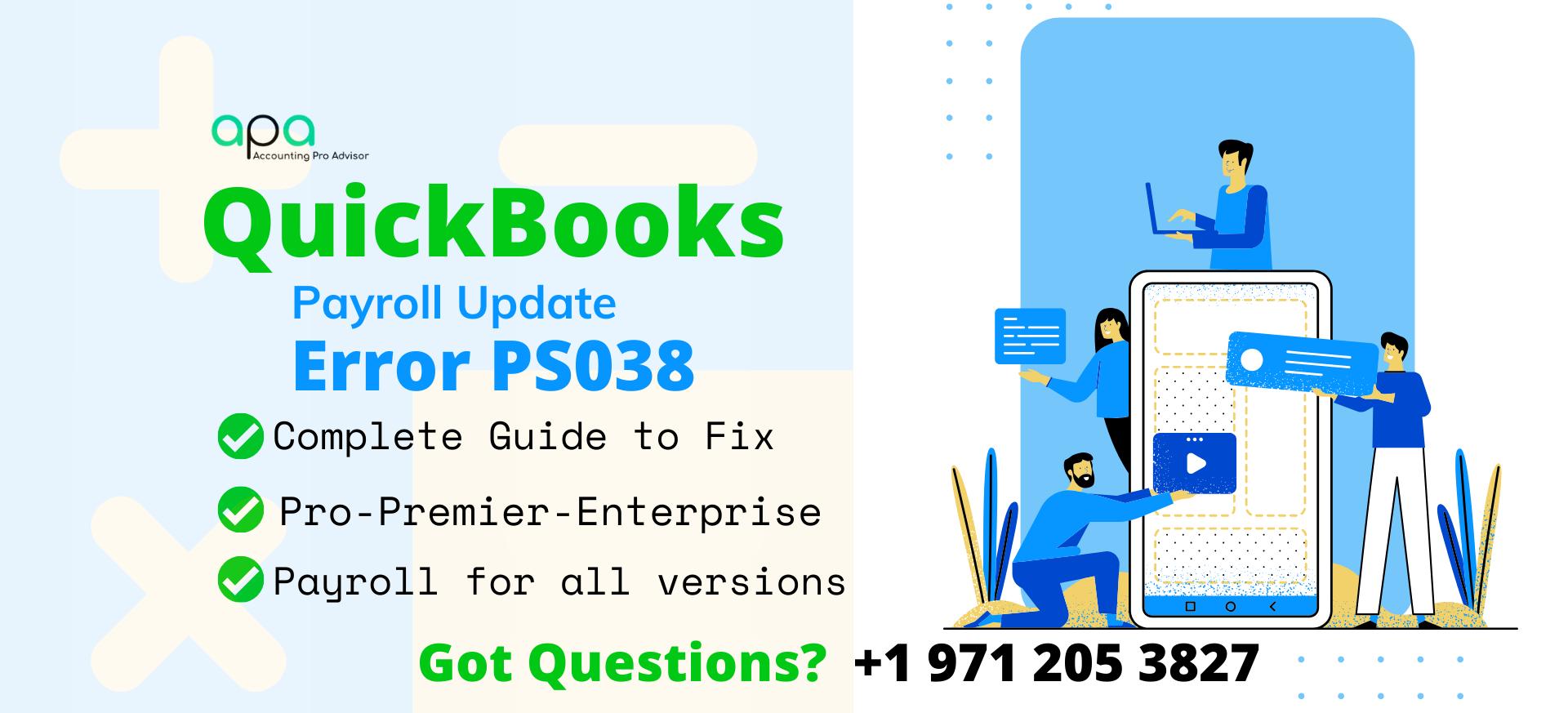 QuickBooks Payroll update error PS038 (2)
