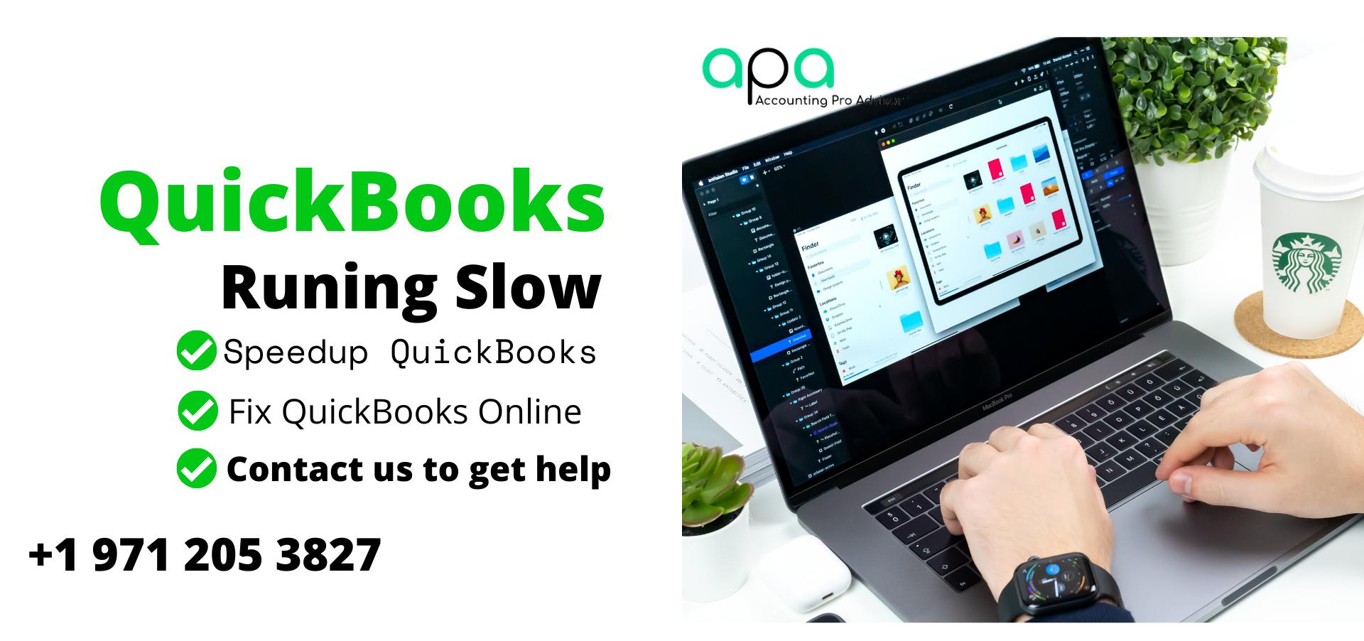 QuickBooks running slow