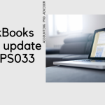 PS033 QuickBooks Payroll update error