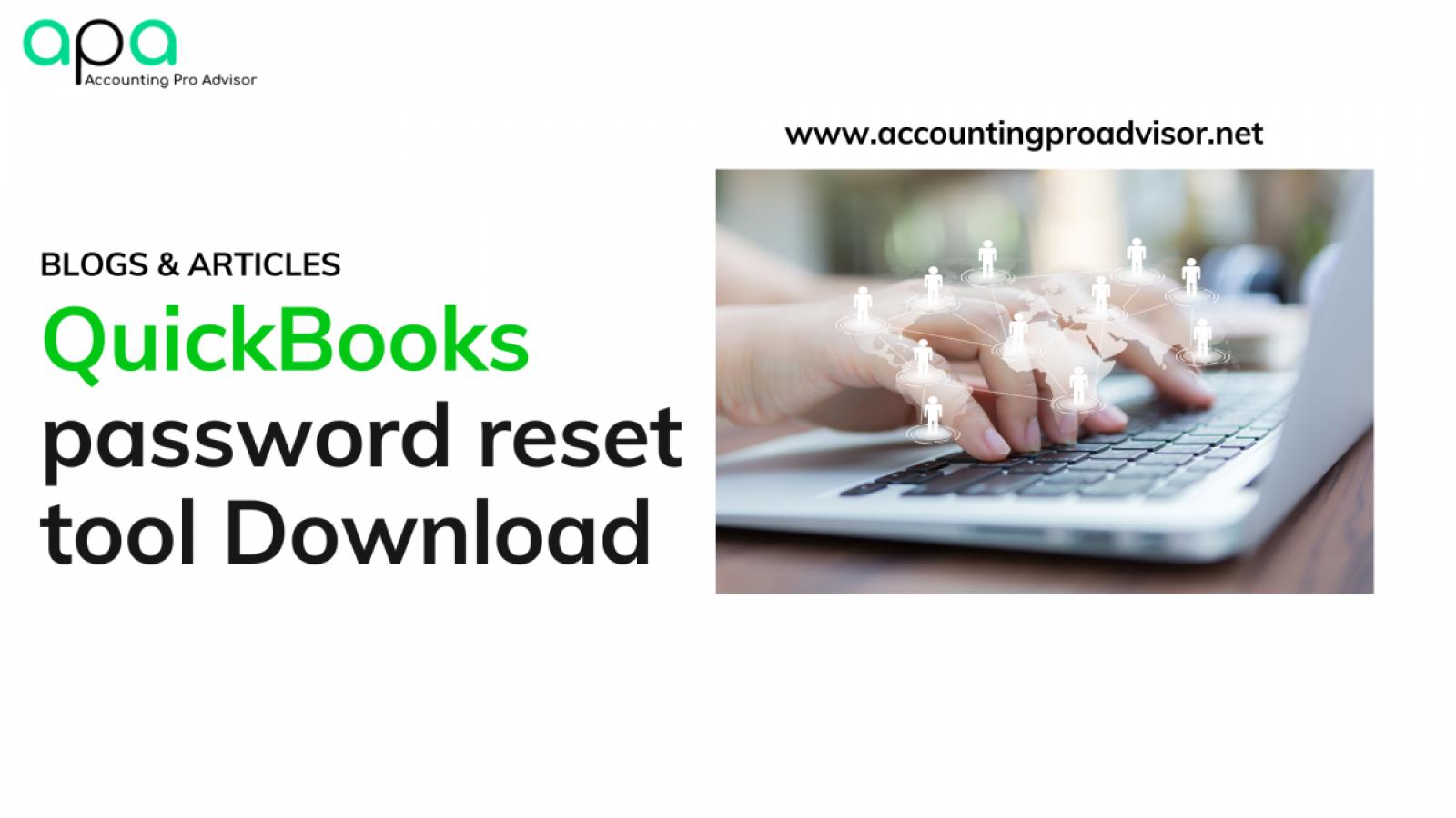 QuickBooks password reset tool
