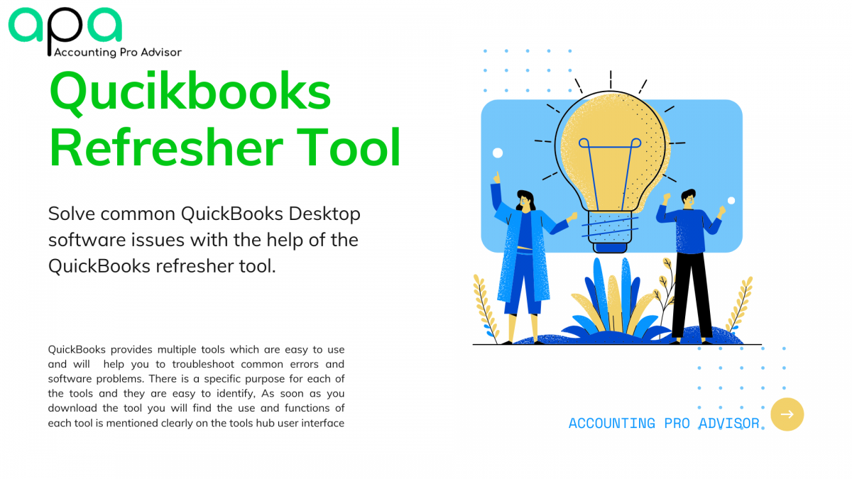 Quickbooks refresher tool