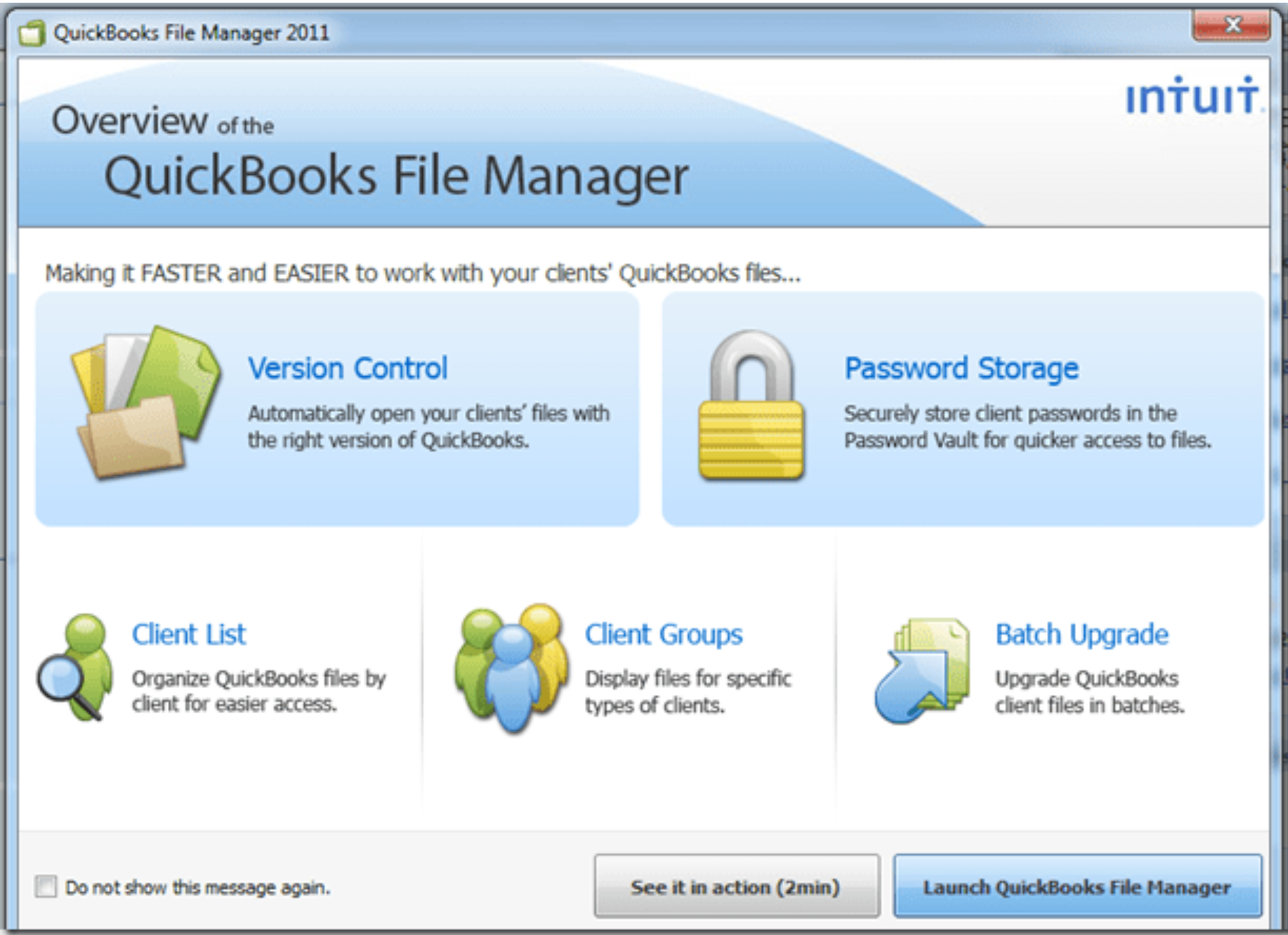 QuickBooks File Manager