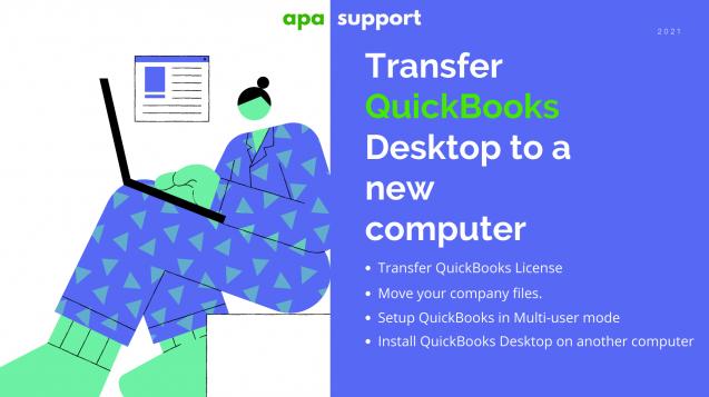 Transfer QuickBooks to new computer